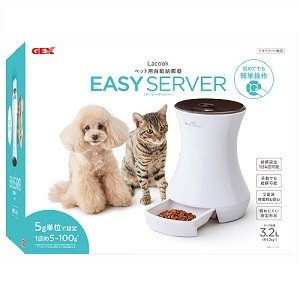 GEX EASY SERVER イージーサーバー(ドライフード専用自動給餌器)|magpet|04