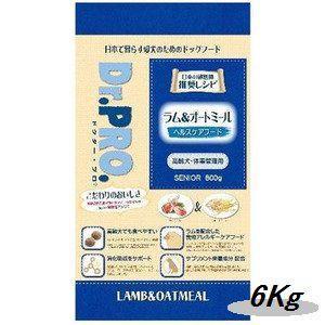 ニチドウ ドクタープロ ラム&オートミール 高齢犬用 6Kg|magpet
