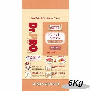ニチドウ ドクタープロ 3フィッシュ2ポテト6kg|magpet