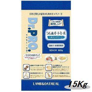 ニチドウ ドクタープロ ラム&オートミール 高齢犬用 15Kg|magpet