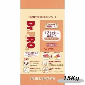 ニチドウ ドクタープロ 3フィッシュ2ポテト 15Kg|magpet