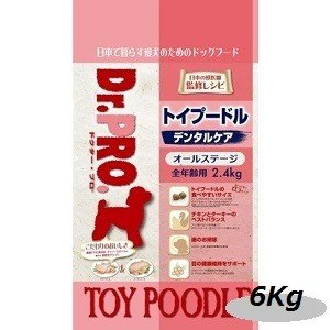 ニチドウ ドクタープロ トイプードルフード 6kg|magpet