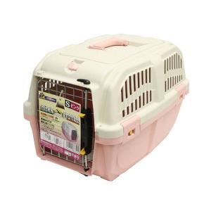 ドギーマンハヤシ ハードキャリー DOGGY EXPRESS S ピンク|magpet