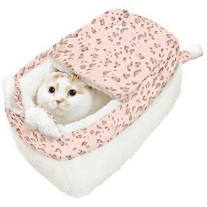 ドギーマンハヤシ ネコボックスベッド シュガーピンク|magpet