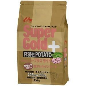 森乳 スーパーゴールド フィッシュ&ポテト プラスライト 肥満・関節ケア用 2.4kg