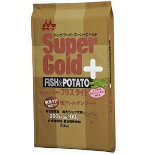 森乳 スーパーゴールド フィッシュ&ポテト プラスライト 肥満・関節ケア用 7.5kg