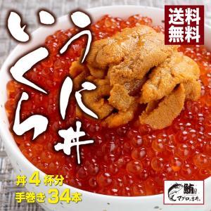 海鮮 ギフト ウニ イクラ 丼 海鮮セット 海鮮丼 3〜4人前 無添加 雲丹 うに いくら 送料無料