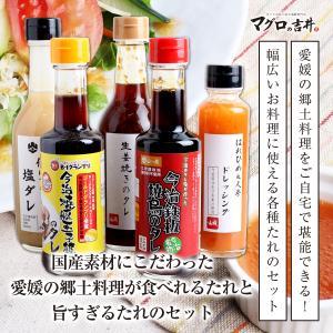 国産素材にこだわった愛媛の郷土料理が食べれるたれと旨すぎるたれのセット|maguro441