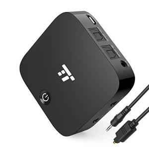 【光デジタル接続】TaoTronics Bluetooth トランスミッター レシーバー aptX-...