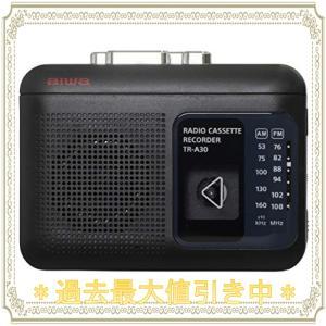 aiwa アイワ ラジオ付きカセットレコーダー TR-A30(B)