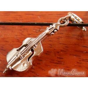 楽器 バイオリン ペンダント/チャーム シルバー925雑貨アクセサリー|mahalohana