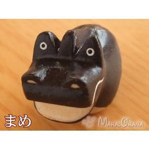 ぽれぽれ豆干支/たつ/辰 木彫り 置物 雑貨 ハンドメイド|mahalohana