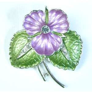 【ブローチ】タイ製 花を模したブローチ バッジ アジアン AC-BRCH201231-7|mahanadi
