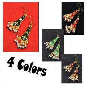 インドのファッションピアス AC-PIE150|mahanadi