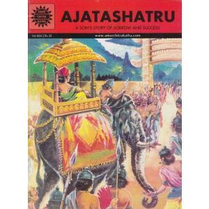 インドの偉人漫画 アジャンタシャトル 英語版|mahanadi