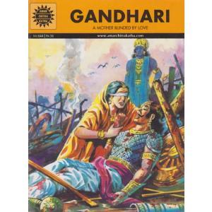 インドの偉人マンガ  『Gandhari』 英語版  BO-COM-GDR|mahanadi
