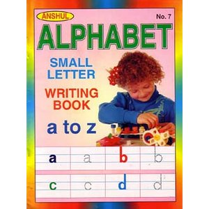 インドの英語書き取りノート 『Anshul Alphabet Small Letter Writing Book』  BO-LAN20|mahanadi
