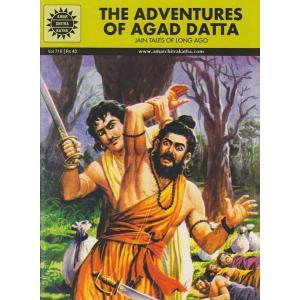 インドの漫画 The Adventures of Agad Datta 英語版|mahanadi