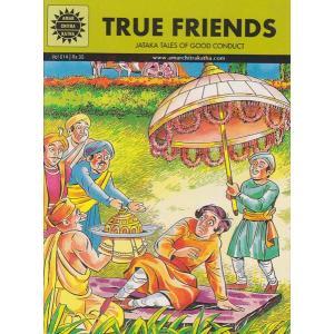 インドの漫画 ジャータカ True Friends 英語版|mahanadi