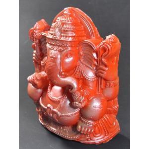 インドの樹脂製ガネーシャ像 DO-ST100|mahanadi