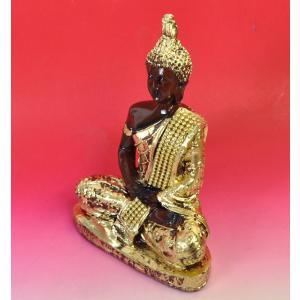 テラワーダ式のレジン仏像 東南アジア タイ ビルマ カンボジア スリランカ 南伝仏 DO-ST19314-12|mahanadi