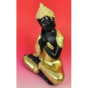 テラワーダ式のレジン仏像 東南アジア タイ ビルマ カンボジア スリランカ 南伝仏 DO-ST19314-13|mahanadi