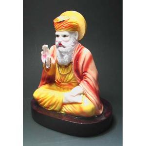 インドの彩色神像 グルナーナク  DO-ST8|mahanadi