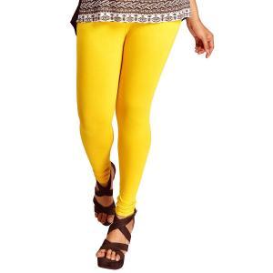 超シンプル・スキニーパンツ レディース 黄 腰紐無し ゴムのみタイプ インド製 アジアン エスニック 服 FU-CRD19316-2YL|mahanadi