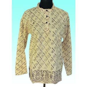 インド製アジアン エスニックシャツ レディースL ヒッピー レイブ バックパッカー|mahanadi