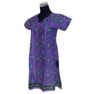 インド綿のアジアン・エスニックシャツ レディース 半添 ヒッピー FU-F-CAS285|mahanadi