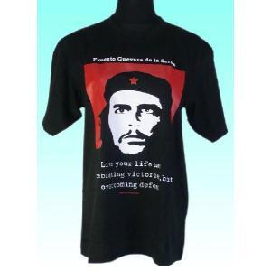 チェ・ゲバラのレディースTシャツ M & Lサイズ|mahanadi