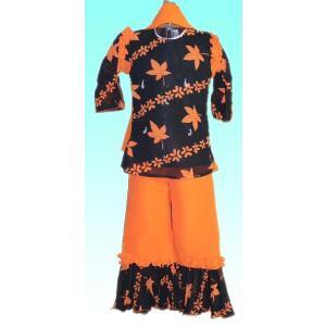(80サイズ) 女児用インドの民族衣装パンジャビドレス FU-KD-TRA20|mahanadi