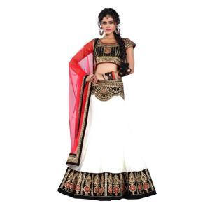 インドの民族衣装レヘンガ(ランガ) 三点セット パーティー向けの豪華な衣装 レディース アジアン エスニック FU-LHG1|mahanadi