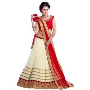 インドの民族衣装レヘンガ(ランガ) 三点セット パーティー向けの豪華な衣装 レディース アジアン エスニック FU-LHG2|mahanadi