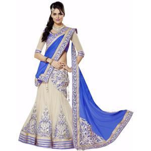 インドの民族衣装レヘンガ(ランガ) 三点セット パーティー向けの豪華な衣装 レディース アジアン エスニック FU-LHG3|mahanadi