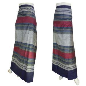 アジアの腰巻民族衣装 サロン ロンジー ルンギー エスニック アジアン|mahanadi