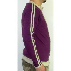 タイのビール「ビア・チャン」ジャケット 男性用 紫(M)|mahanadi|03