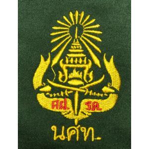 タイ軍アーミーTシャツ 国防局予備役将校訓練所 L&M 半袖 Vネック タイ語 タイ文字 FU-M-TS20814-1 mahanadi 04