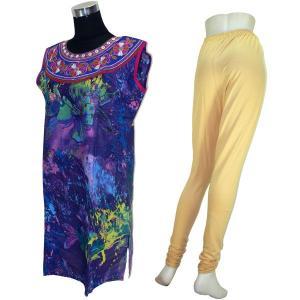 インドの民族衣装パンジャビドレス2点セット XLサイズ FU-PUN530|mahanadi