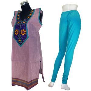 インドの民族衣装パンジャビドレス2点セット XLサイズ FU-PUN537|mahanadi