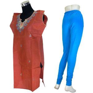 インドの民族衣装パンジャビドレス2点セット XLサイズ FU-PUN539|mahanadi