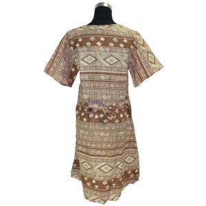 モダンスタイルのパンジャビドレス2点セット(L) インドの民族衣装 サルワールカミーズ アジアン エスニック|mahanadi|03