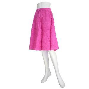 インドの膝丈スカート FU-SKT82|mahanadi