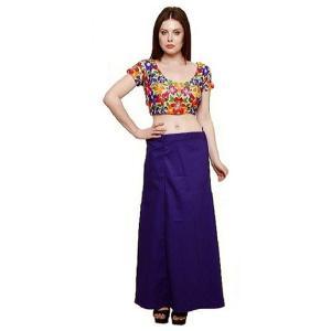 インド民族衣装「サリー」用ペティコート 紫 アジアン エスニック コスプレ ネパール スリランカ バングラデシュでも|mahanadi