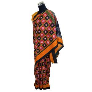 インドの民族衣装サリー アジアン エスニック コスプレ 綿 バングラデッシュ ネパール スリランカでも FU-SR196|mahanadi