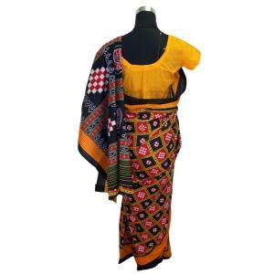 インドの民族衣装サリー アジアン エスニック コスプレ 綿 バングラデッシュ ネパール スリランカでも FU-SR196|mahanadi|02