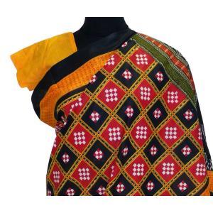 インドの民族衣装サリー アジアン エスニック コスプレ 綿 バングラデッシュ ネパール スリランカでも FU-SR196|mahanadi|03