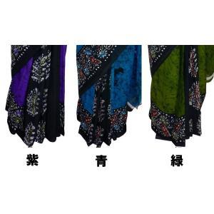 インドの民族衣装サリー アジアン エスニック コスプレ ジョーゼット バングラデッシュ ネパール スリランカでも mahanadi 05