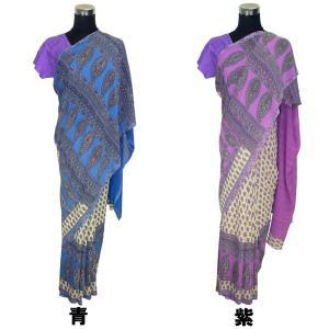 インドの民族衣装サリー アジアン エスニック コスプレ ジョーゼット バングラデッシュ ネパール スリランカでも FU-SR199|mahanadi|02