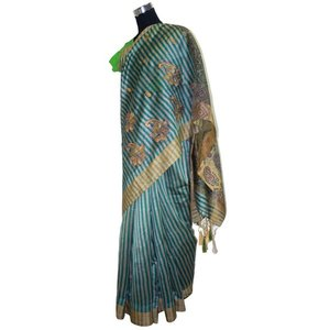 インドの民族衣装サリー 機械織り化繊 シルクのような光沢 アジアン エスニック バングラデッシュ ネパール スリランカでも|mahanadi